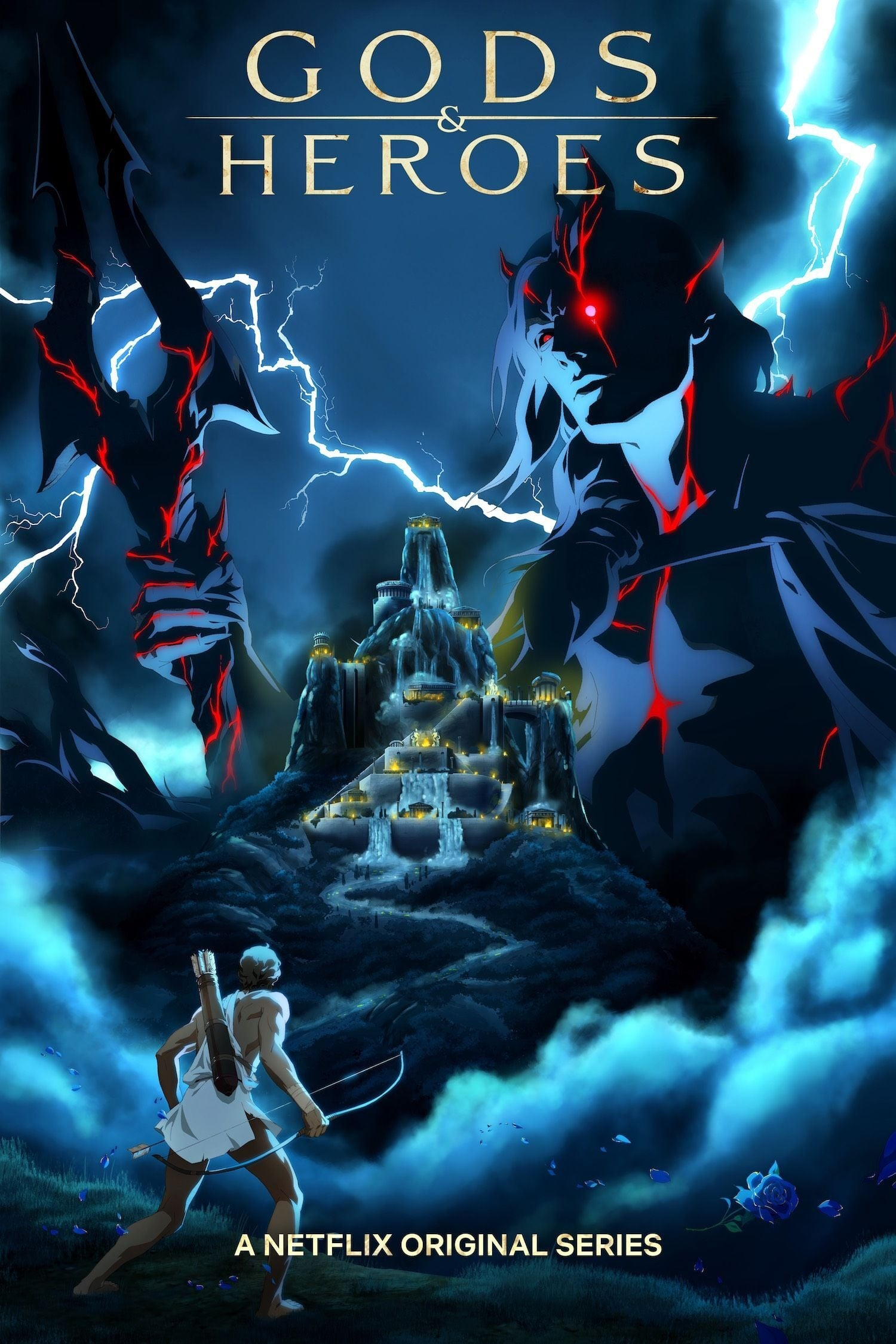 Blood of Zeus Netflix serie anime trailer