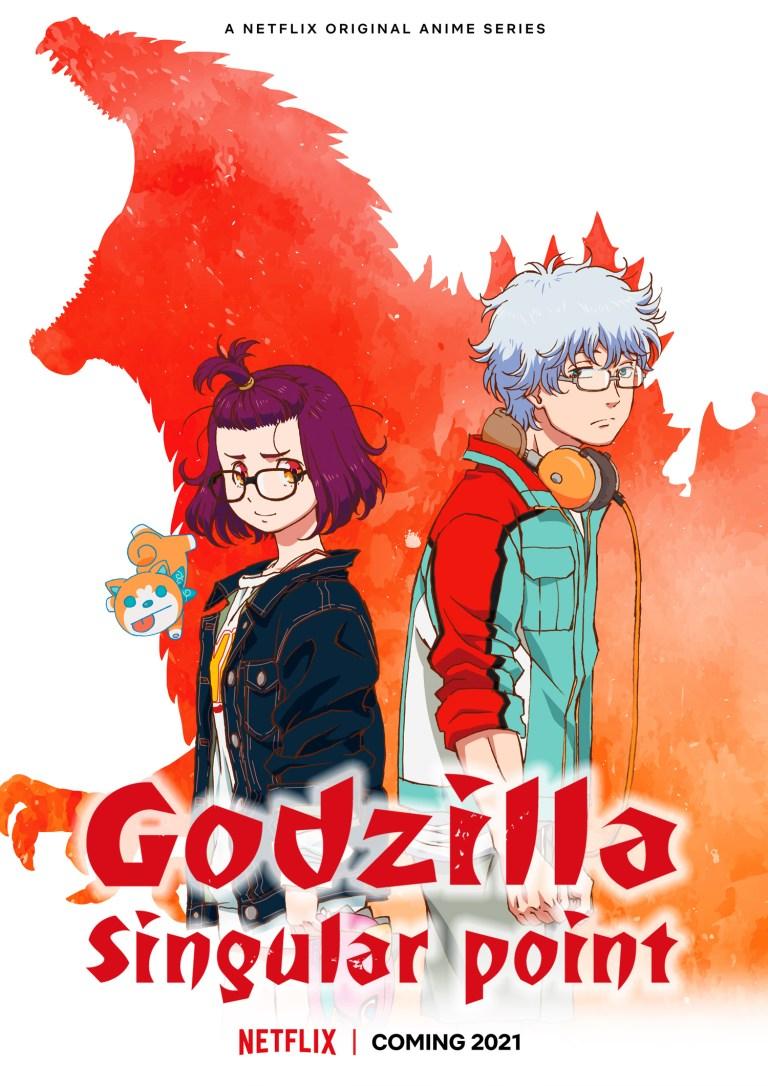 Netflix Godzilla Singular Point trailer