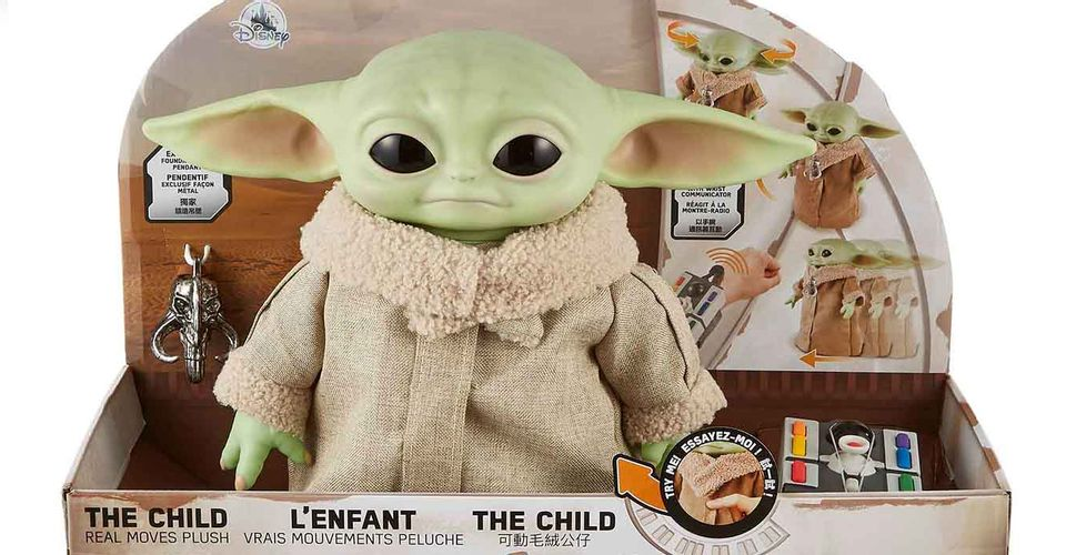 Baby Yoda The Mandalorian Mattel
