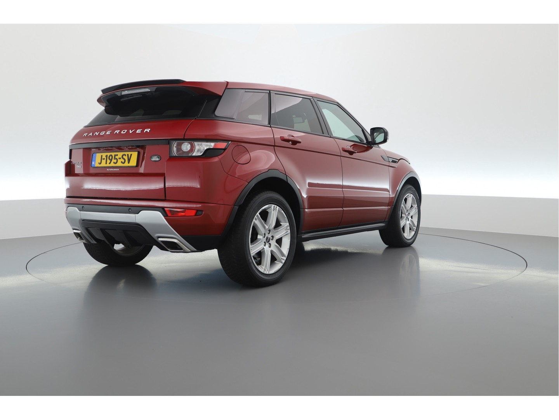 ferrari-rode, Tweedehands Range Rover Evoque 2012 occasion
