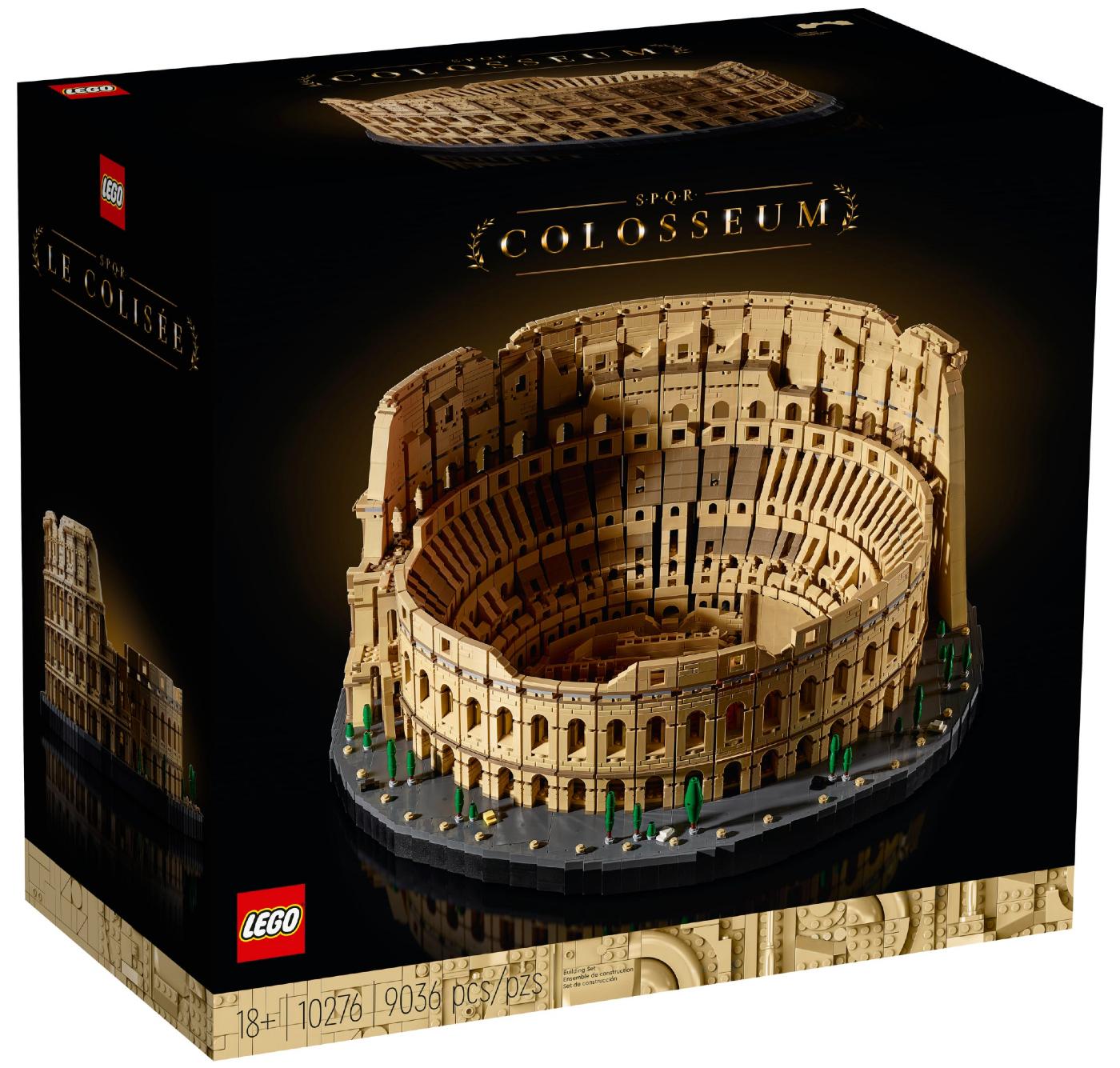 LEGO, colosseum, rome, grootste bouwset, set