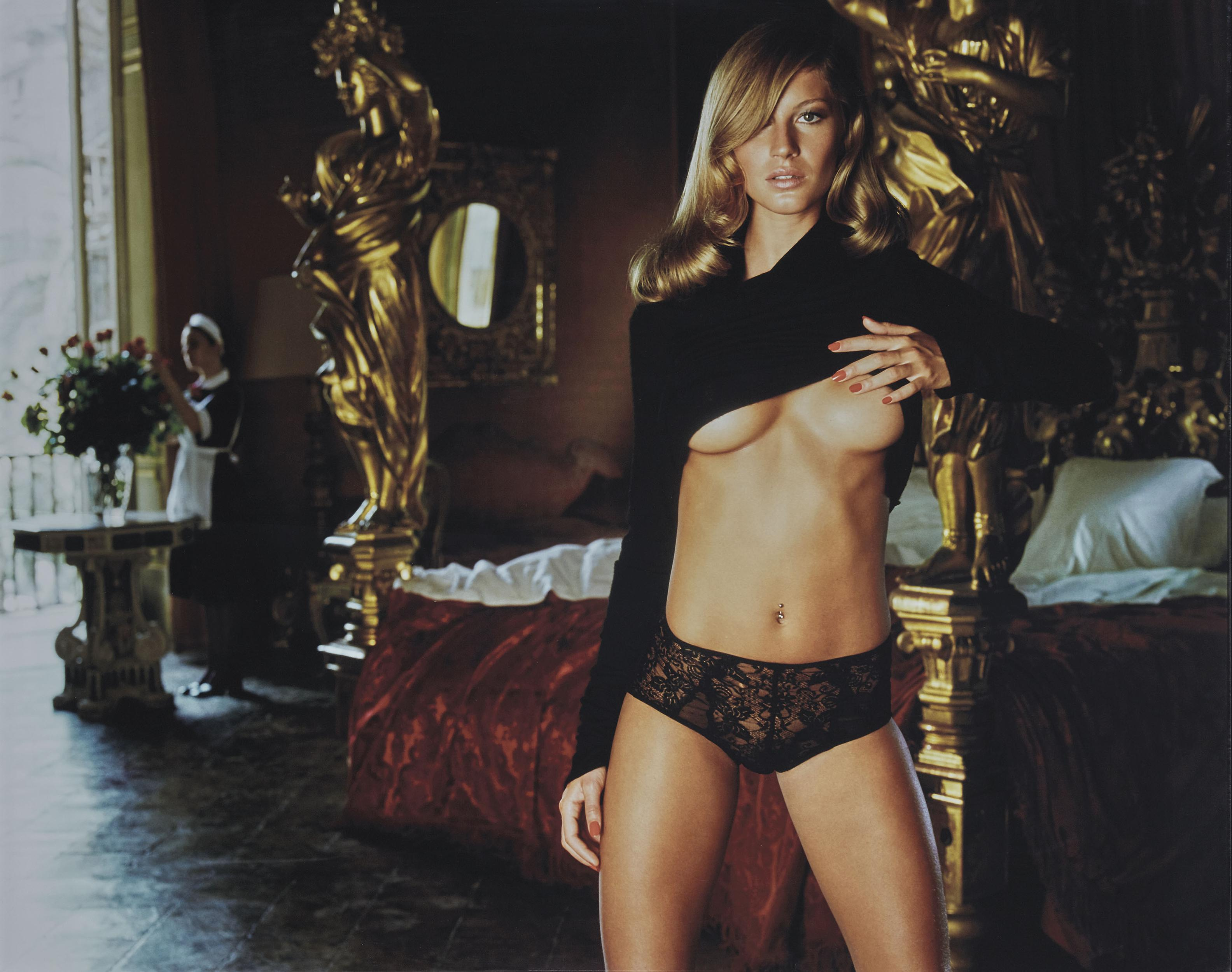 gisele bundchen, 2000, pirelli kalender