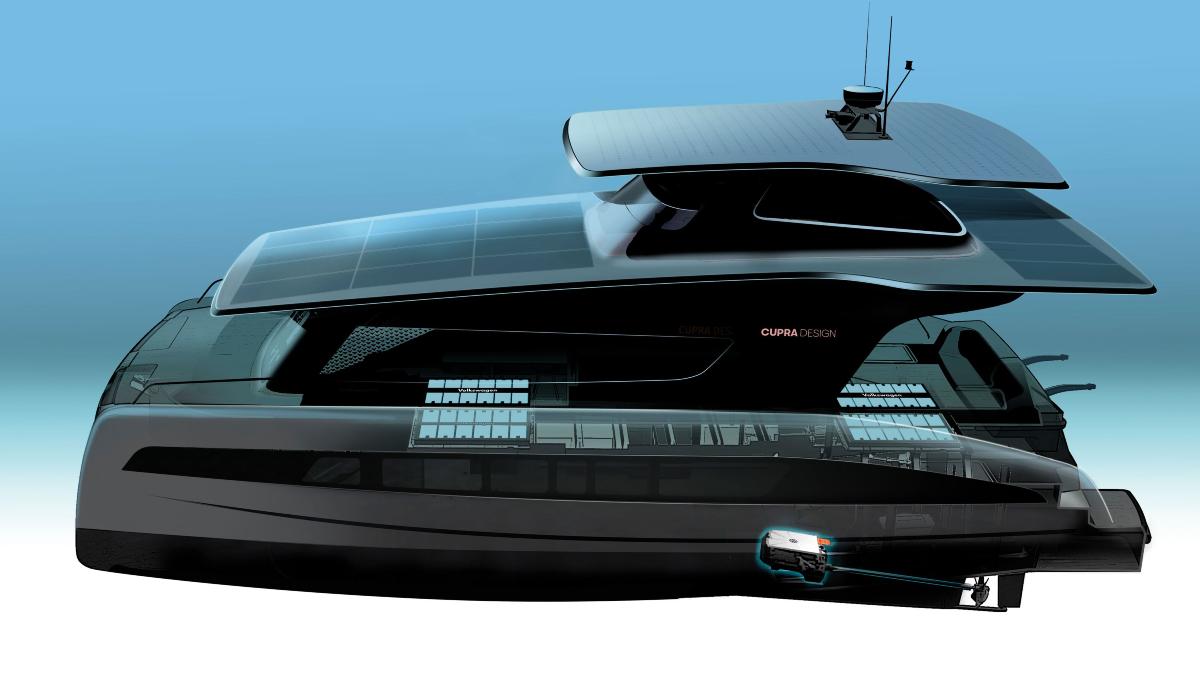 Volkswagen is Tesla voor met superjacht op zonne-energie - Manners Magazine